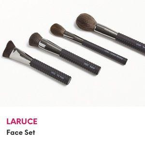 Laruce face brush set 4 brushes